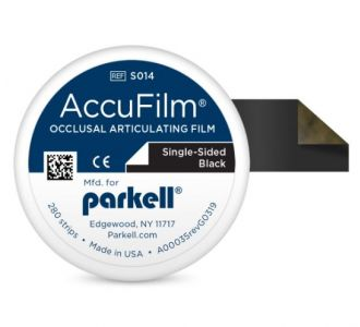 Бумага артикуляционна Parkell AccuFilm Black 280шт