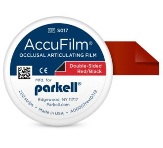 Бумага артикуляционная Parkell AccuFilm Red-Red 280шт