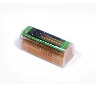Аппликаторы Denbur Multi-Brush Small оранжевые, запасной блок 100шт