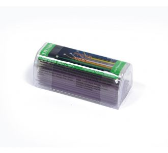 Аппликаторы Denbur Multi-Brush Small фиолетовые, запасной блок 100шт