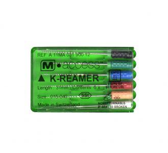 Инструмент ручной Maillefer K-Reamer M-Access №20 25мм A11MA02502012
