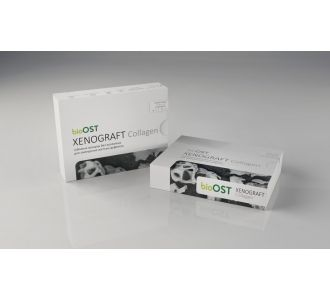 Гранулы bioOST XENOGRAFT Collagen  с коллагеном 0.25 - 1.0мм, XCol-1-3