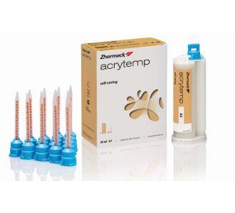 Пластмасса для коронок Zhermack Acrytemp A1 50мл+76гр C700201